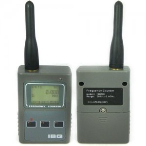 9-Digit LCD Display Portable Frequency Counter - RF Signal Strength Indicating